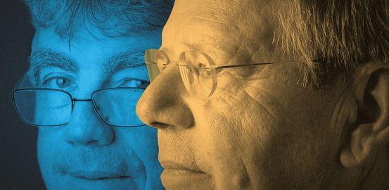 Patrick Aebischer and Pierre-François Leyvraz