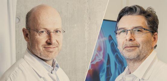 Vincent Amstutz et Philippe Ryvlin