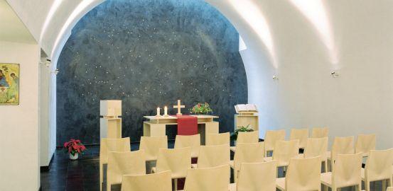 Chapelle en reconversion spirituelle