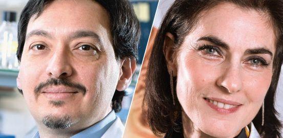 Francine Behar-Cohen and Carlo Rivolta